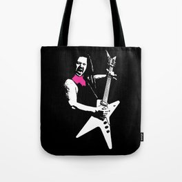 Black Tooth Grin [Pink] Tote Bag