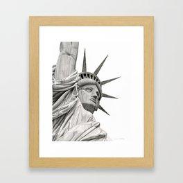 Statue of Liberty Framed Art Print
