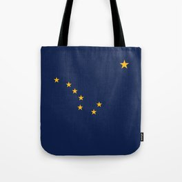 State flag of Alaska - Authentic version Tote Bag