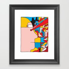 Study no. 6 Framed Art Print