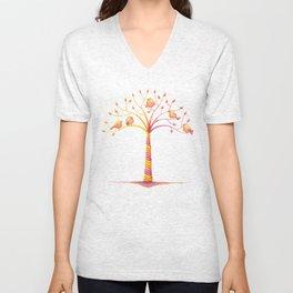 April Tree Unisex V-Neck