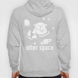 Cute Otter Space Hoody