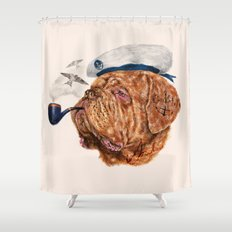 The Giant Sailor Shower Curtain