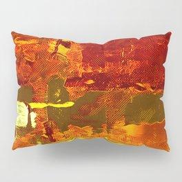 Orange Crush Painting  Pillow Sham