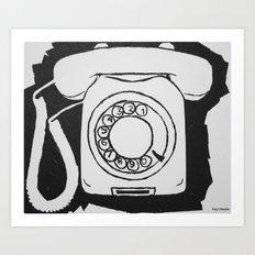 Phone.  Art Print