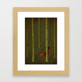 Little Red Riding Hood - NO TEXT Framed Art Print
