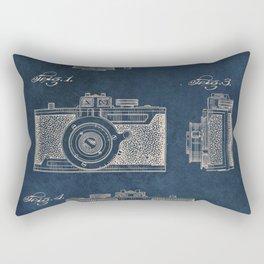 Cazin Camera patent art Rectangular Pillow