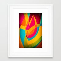 magnolia Framed Art Prints featuring magnolia by Julia Tomova
