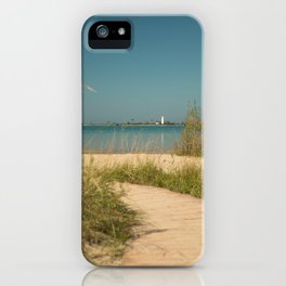 Chantry Island View iPhone Case