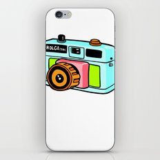 Holga camera iPhone & iPod Skin