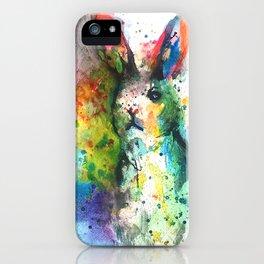 Bunny Splash iPhone Case