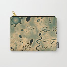 Microscopic Microbes Carry-All Pouch