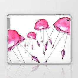 Geometric jellyfish Laptop & iPad Skin