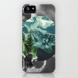 Green Melody iPhone Case