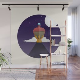 She only wants his love Wall Mural