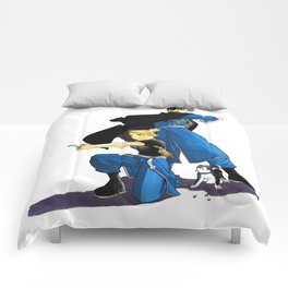 Fullmetal Alchemist - Roy & Riza Comforters