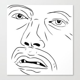 Mad Mads Canvas Print