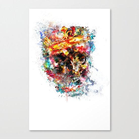 King Dusty Canvas Print