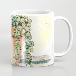 String of Pearls Plant, Still Life Coffee Mug