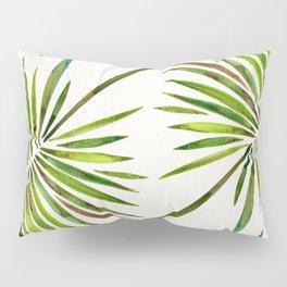 Tropical Fan Palm – Green Pillow Sham