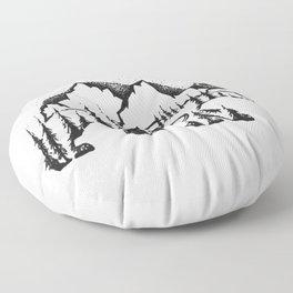 Bear Valley Floor Pillow