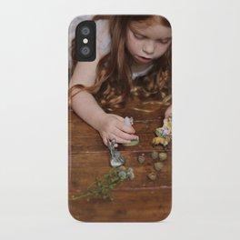 a miniature teaparty iPhone Case