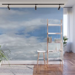 Soft Heavenly Clouds Wall Mural