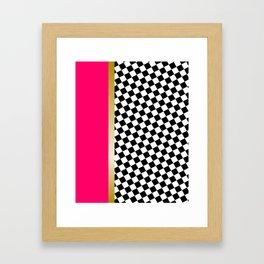 grrls square Framed Art Print