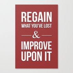 Improve Upon It Canvas Print