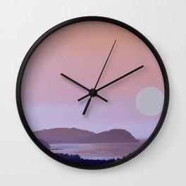 WASHINGTON COASTLINE Wall Clock