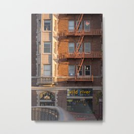 The Golden Lofts Metal Print