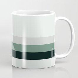 aqua || gray horizon Coffee Mug