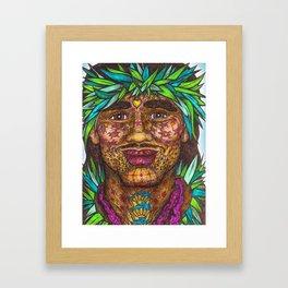 Wisdom Keeper Color #58 (Vitality) Framed Art Print