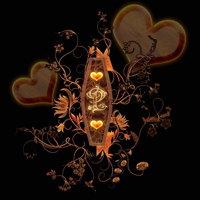 Love, hearts Duvet Cover