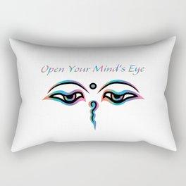 Open Your Mind's Eye_Rainbow Rectangular Pillow