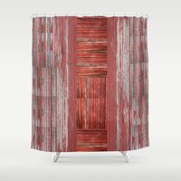 rustic Shower Curtains featuring Rustic by Mirabella Market