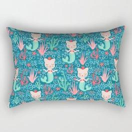 Purrmaids Rectangular Pillow
