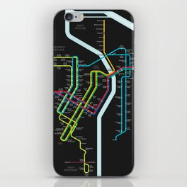 Rail Transit of Portland, Oregon iPhone Skin