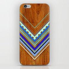 Aztec Arbutus Blue iPhone & iPod Skin