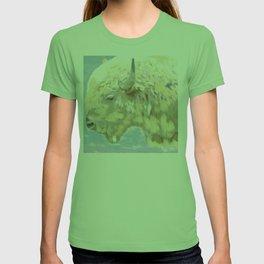 White buffalo calf T-shirt