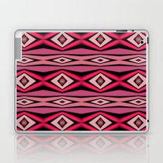 Pink Black and White Diamond Abstract Laptop & iPad Skin