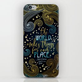 Rebel Of The Sands - For Each Place iPhone Skin