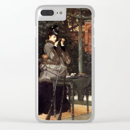 At the Rifle Range 1869 James Jacques Joseph Tissot Clear iPhone Case
