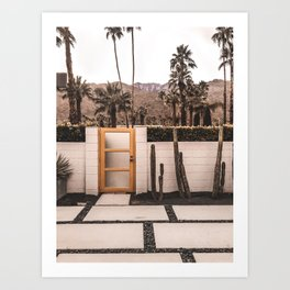 Palm Springs House Art Print