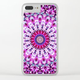 ARABESQUE PINK Clear iPhone Case