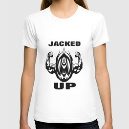 JACKED UP IN BLACK  T-shirt