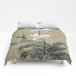 Orchid and Mantis Comforters