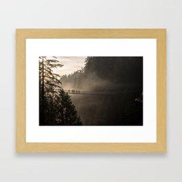 Capilano Bridge Framed Art Print