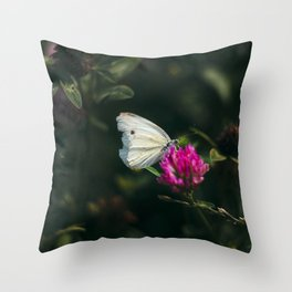 flower photography by Ed Leszczynskl Throw Pillow