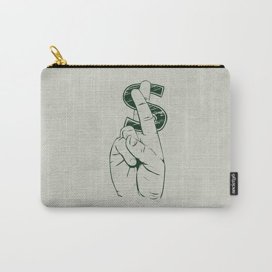 In Cash We Trust. Carry-All Pouch